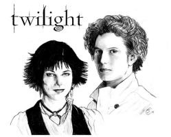 Twilight - Alice and Jasper by antalas