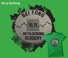 Bei Fong Metalbending Academy by digitalfragrance