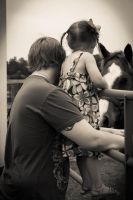 A Boy, and His Girl, and a Horse by HarleyQuinn2012