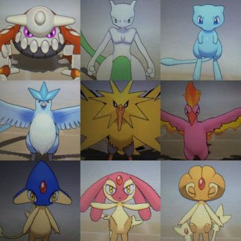 shiny legendary pokemon for sale CLOSED by lxttens
