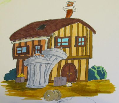 House Sketch by PeterStringer