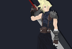 Cloud Strife by cindDS