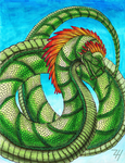 Feathered Serpent by ZoeHildebrand-R