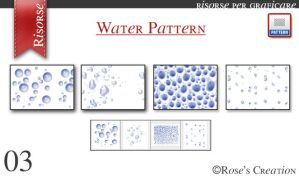 Water Pattern by dreamswoman