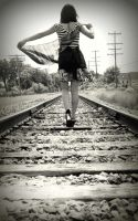 Hit the Tracks Never Look Back by KateAnnexTerrasochi