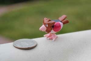 #021 Spearow by AnnalaFlame