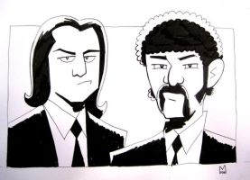 Pulp Fiction - commision by b-maze