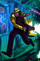 Dick Tracy  2150 by JohnOsborne