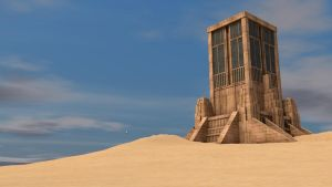 Sun temple by NIHILUSDESIGNS
