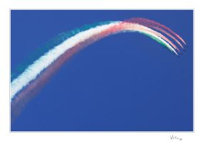 Frecce Tricolore III by ValloDan