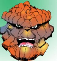 Thing spikey 80's colored by brianrobinson