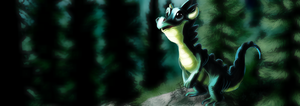 Little Forest Dragon by Inaara