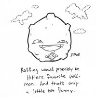 Koffing by JHALLpokemon