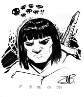 CCE2011- Conan the Barbarian by Zubby