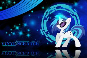 Vinyl Scratch Backround by TickleBerryDude