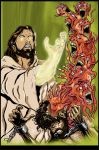 Jesus Vs Demons. by Highlander0423