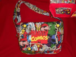 Marvel Messenger Bag by Hop-is-my-Hero