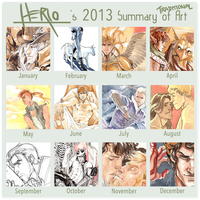2013 Summary of Art_tradi by Herio13