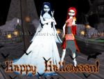 MMD Happy Halloween-Newcomers by Heleannor