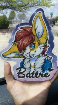 Battre | Badge Commission by xCailinMurre