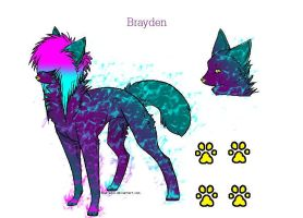 New Breedable OC Brayden! by ArtisticAnubis