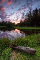 Camp Kirchenwald Sunset 1 by ryangallagherart
