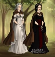 Odile and Odette by OceariaSaraphine