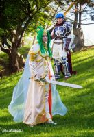 Ike and Elincia by bluerosegoddess