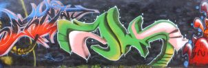 graffiti by yrastilo