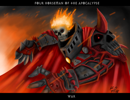 Four Horseman of the Apocalypse - War by crucafix