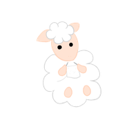 Knitting Sheep by Poppun