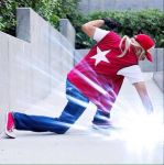 Terry Bogard Power Wave by IronCobraAM
