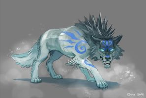 Ice Wolf by Okha