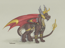Odin Dragon by Imbecamiel
