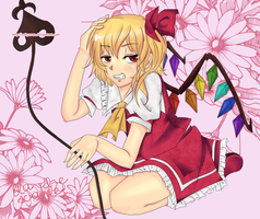 Flandre Pink Version by XxKyoran