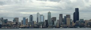Seattle Waterfront by PamplemousseCeil