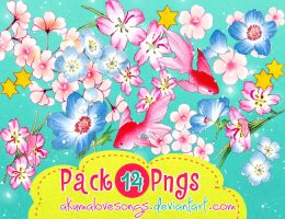 Pack 14 pngs by akumaLoveSongs