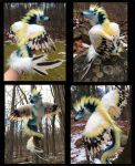 Harpie Dragon Poseable Doll by Blazesnbreezes