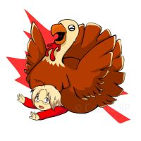 APH: Happy Canadian Turkey Day by ultimachan