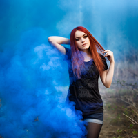 in smoke by MS1991