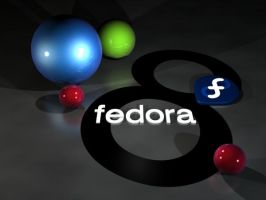 Fedora 8 by Mola-mp