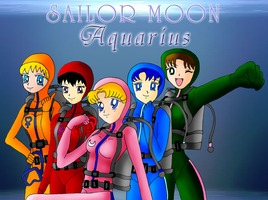 Sailor Moon Aquarius WP 1 by ZeFrenchM