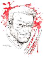 Old man Logan pre con commission LBCC 2015 by aethibert