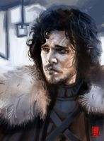 Jon Snow by ARTofANT