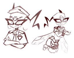 Wasp Sketches by Zmei-Kira