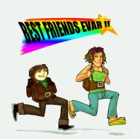 psychonauts: BFF FOREVER by tentaclees