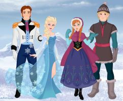 Frozen by M-Mannering