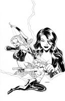 Danger Girl Cover by LostonWallace