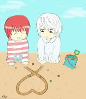 +MattXNear+ On the beach by sooshiki