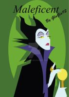 Maleficent Vector by GloGlo92